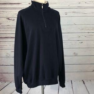 Bobby Jones Large Peruvian Pima Cotton Sweater Zip